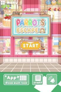 Androidアプリ「脱出ゲーム インコ脱出」のスクリーンショット 1枚目