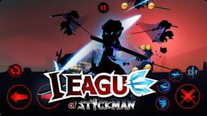 Androidアプリ「League of Stickman - Best action game(Dreamsky)」のスクリーンショット 4枚目