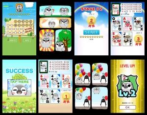 Androidアプリ「ぺそぎんトランプ・可愛いゲーム無料」のスクリーンショット 4枚目