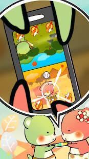 Androidアプリ「かわうそバトル」のスクリーンショット 1枚目