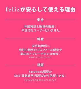 Androidアプリ「マッチングアプリはfeliz 恋活・婚活でマッチング」のスクリーンショット 4枚目