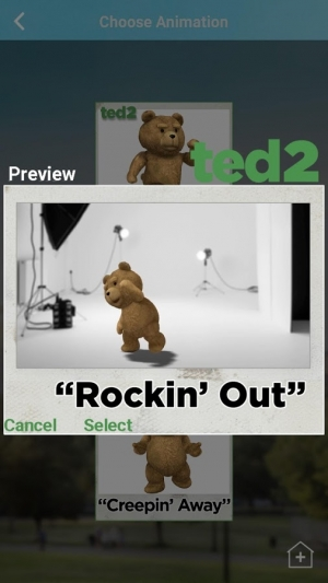 Androidアプリ「Ted 2 MovieMaker International」のスクリーンショット 2枚目