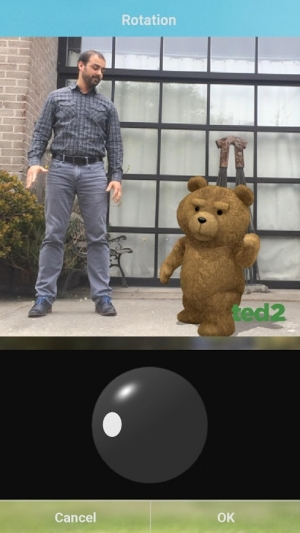 Androidアプリ「Ted 2 MovieMaker International」のスクリーンショット 4枚目
