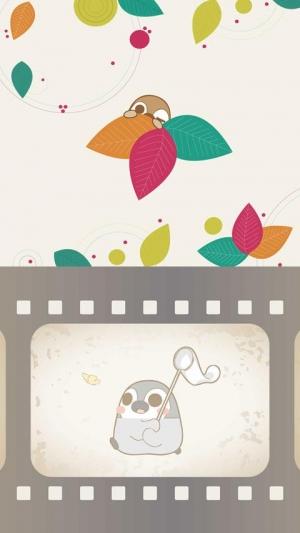 Androidアプリ「ぺそぎん壁紙 5 無料ライブ壁紙 ペンギン」のスクリーンショット 2枚目