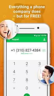Androidアプリ「Nextplus Free SMS Text + Calls」のスクリーンショット 3枚目
