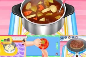 Androidアプリ「クッキングママ お料理しましょ!」のスクリーンショット 1枚目