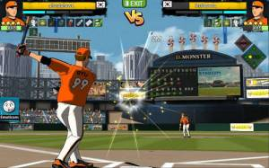 Androidアプリ「フリースタイル野球2」のスクリーンショット 4枚目