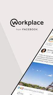 Androidアプリ「Workplace from Facebook」のスクリーンショット 1枚目