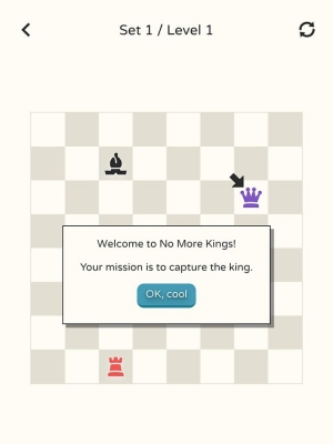 Androidアプリ「No More Kings - Chess Puzzle」のスクリーンショット 5枚目