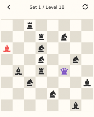 Androidアプリ「No More Kings - Chess Puzzle」のスクリーンショット 2枚目