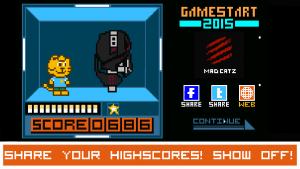 Androidアプリ「GameStart Pixel Battle」のスクリーンショット 5枚目