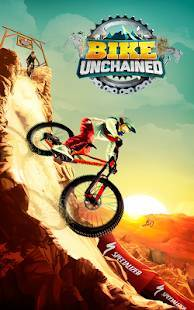 Androidアプリ「Bike Unchained」のスクリーンショット 1枚目