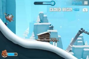 Androidアプリ「Ski Safari 2」のスクリーンショット 4枚目