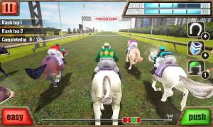 Androidアプリ「競馬 3D - Horse Racing」のスクリーンショット 4枚目