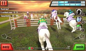 Androidアプリ「競馬 3D - Horse Racing」のスクリーンショット 1枚目