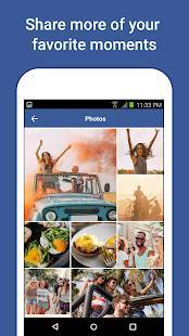 Androidアプリ「Facebook Lite」のスクリーンショット 4枚目