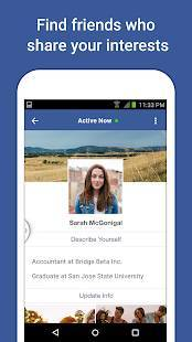 Androidアプリ「Facebook Lite」のスクリーンショット 5枚目