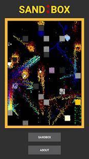 Androidアプリ「砂 : 絵」のスクリーンショット 1枚目