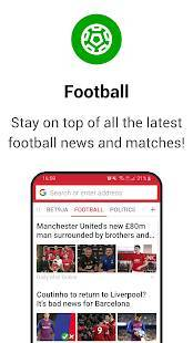 Androidアプリ「Opera Mini Web ブラウザ」のスクリーンショット 3枚目