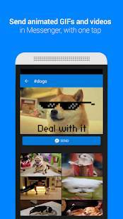 Androidアプリ「GIF Keyboard by Tenor」のスクリーンショット 1枚目