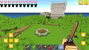 Androidアプリ「ピクセルサバイバルゲーム:無人島に冒険する」のスクリーンショット 2枚目