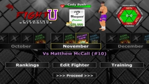 Androidアプリ「Weekend Warriors MMA」のスクリーンショット 5枚目