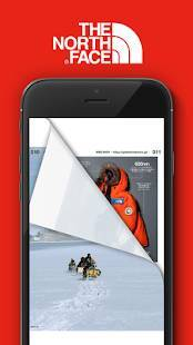 Androidアプリ「THE NORTH FACE JAPAN APP」のスクリーンショット 4枚目
