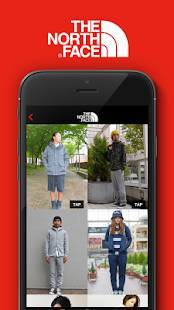 Androidアプリ「THE NORTH FACE JAPAN APP」のスクリーンショット 1枚目
