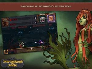Androidアプリ「Deep Dungeons of Doom」のスクリーンショット 4枚目