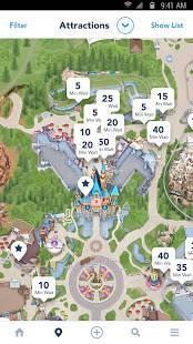 Androidアプリ「Disneyland®」のスクリーンショット 2枚目