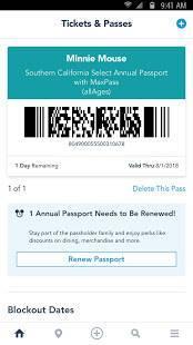 Androidアプリ「Disneyland®」のスクリーンショット 3枚目