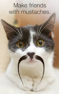 Androidアプリ「Stacheify - Grow a Mustache」のスクリーンショット 2枚目