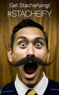 Androidアプリ「Stacheify - Grow a Mustache」のスクリーンショット 4枚目