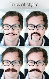 Androidアプリ「Stacheify - Grow a Mustache」のスクリーンショット 3枚目