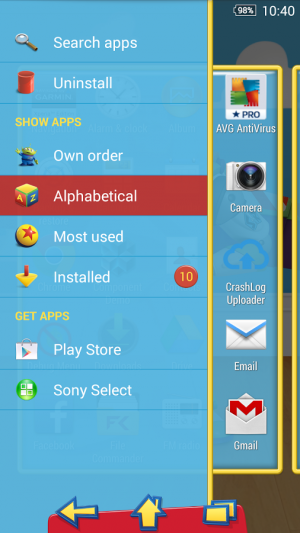 Androidアプリ「XPERIA™ Toy Story Buzz Theme」のスクリーンショット 2枚目