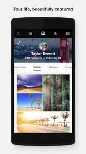 Androidアプリ「Flickr」のスクリーンショット 4枚目