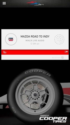 Androidアプリ「Road to Indy TV」のスクリーンショット 3枚目