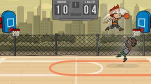 Androidアプリ「Basketball Battle」のスクリーンショット 5枚目