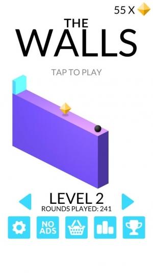 Androidアプリ「The Walls」のスクリーンショット 2枚目