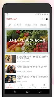Androidアプリ「犬のニュースや飼い方の情報をまとめ読み -わんちゃんホンポ-」のスクリーンショット 2枚目