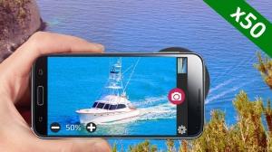 Androidアプリ「メガズームカメラ Mega Zoom Camera」のスクリーンショット 2枚目