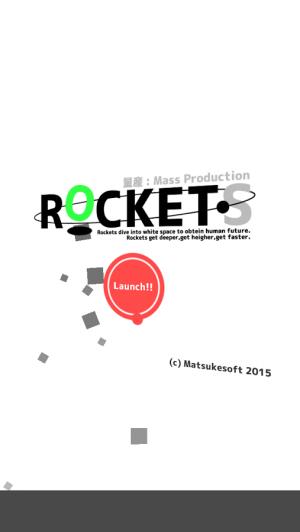 Androidアプリ「イライラ&爽快ロケットアクション : 量産ロケット!」のスクリーンショット 3枚目