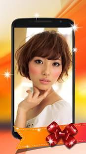 Androidアプリ「髪型シミュレーション アプリ」のスクリーンショット 4枚目