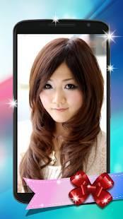 Androidアプリ「髪型シミュレーション アプリ」のスクリーンショット 2枚目