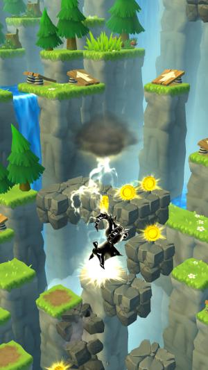 Androidアプリ「Mountain Goat Mountain」のスクリーンショット 2枚目