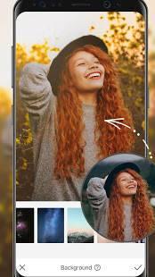 Androidアプリ「AirBrush-自撮りをで自然編集できるプロ級の編集アプリ」のスクリーンショット 5枚目