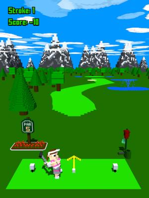 Androidアプリ「Tappy Golf」のスクリーンショット 4枚目