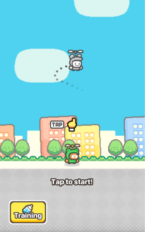 Androidアプリ「Swing Copters 2」のスクリーンショット 2枚目