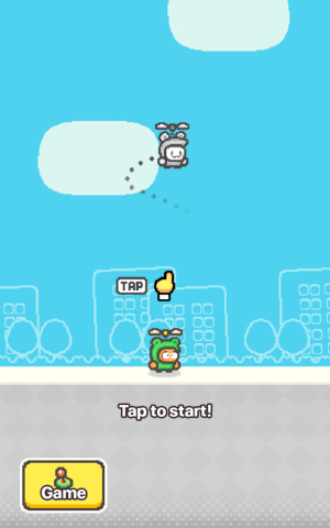 Androidアプリ「Swing Copters 2」のスクリーンショット 3枚目