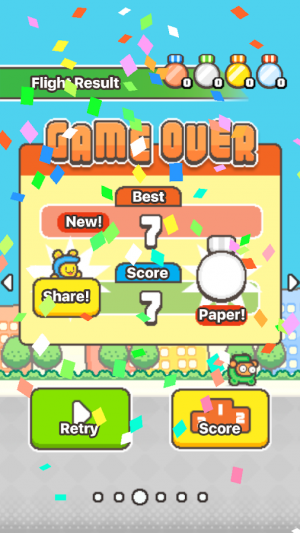 Androidアプリ「Swing Copters 2」のスクリーンショット 5枚目
